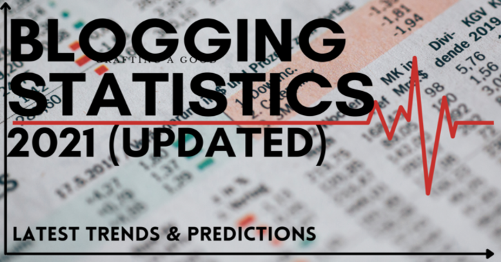 Blogging Statistics 2021 (Featured Image)